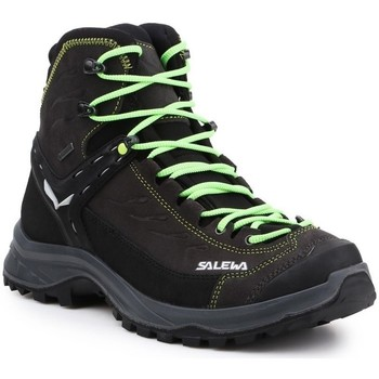 Schuhe Herren Sneaker High Salewa MS Hike Trainer Mid Gtx Schwarz, Grau, Braun