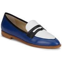Schuhe Damen Slipper Etro MOCASSIN 3767 Blau / Schwarz / Weiss