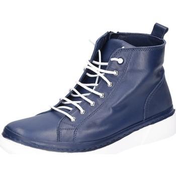 Schuhe Damen Sneaker High Andrea Conti Stiefeletten dk 0211701-017 blau