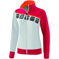 Kleidung Damen Trainingsjacken Erima Sport 5-C presentation jacket 1011919 011232 Other