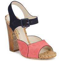 Schuhe Damen Sandalen / Sandaletten John Galliano AN3571 Rose / Marine