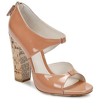 Schuhe Damen Sandalen / Sandaletten John Galliano AN6364 Rose / Beige