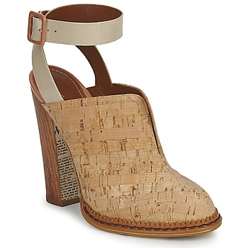 Schuhe Damen Pantoletten / Clogs John Galliano AN9211 Beige
