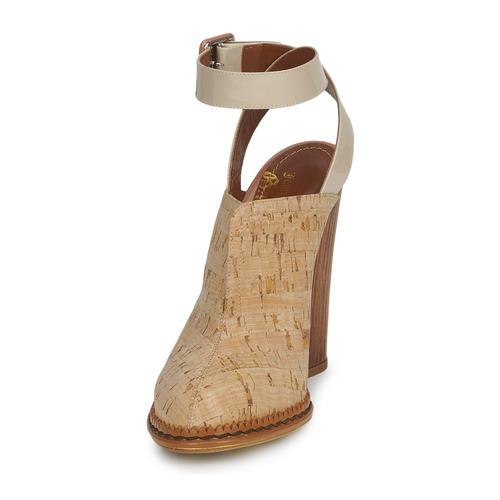 John Galliano AN9211 Beige Clogs  Schuhe Pantoletten / Clogs Beige Damen 551,20 97eded