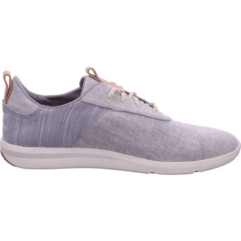 Schuhe Damen Sneaker Low Toms Cabrillo Drizzle Grey Chambray grau