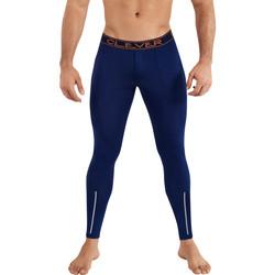 Kleidung Herren Leggings Clever Newport Clevere lange Unterhosen Blau