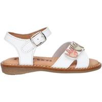 Schuhe Mädchen Sandalen / Sandaletten Garatti AN0098 Blanco