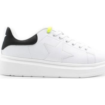 Schuhe Mädchen Sneaker Low Shop Art SA050301 WEISS SCHWARZ
