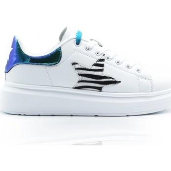 Schuhe Mädchen Sneaker Low Shop Art SA050306 WEISS