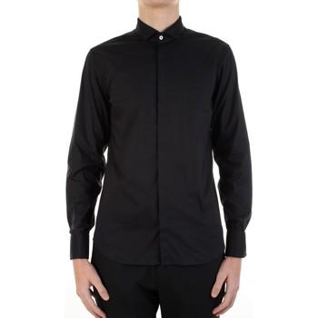 Kleidung Herren Langärmelige Hemden Manuel Ritz 3030E652-213229 Schwarz