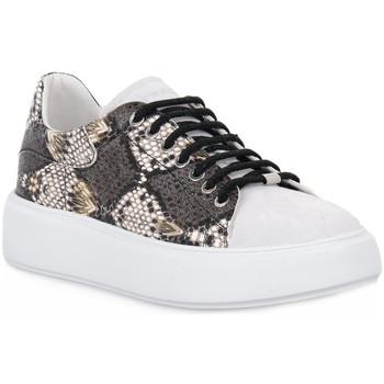 Schuhe Damen Sneaker Low Frau NERO NAPPA Nero