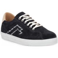 Schuhe Herren Sneaker Low Frau AMALFI BLU LATTE Blu
