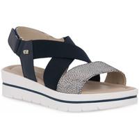 Schuhe Damen Sandalen / Sandaletten Valleverde BLU SANDALO Blu