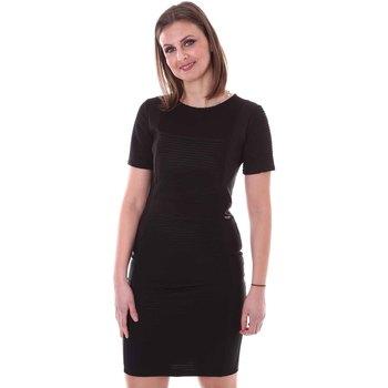 Kleidung Damen Kleider Akè F597YAL20861 Schwarz