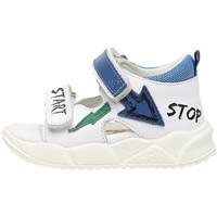 Schuhe Kinder Sandalen / Sandaletten Falcotto 1500865 01 Weiß