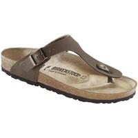Schuhe Herren Zehensandalen Birkenstock 043751 Braun