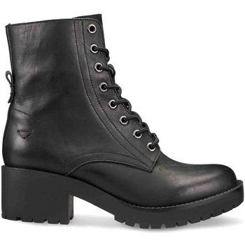 Schuhe Damen Boots Docksteps DSW106100 Schwarz