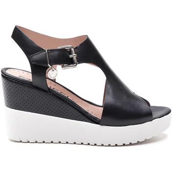 Schuhe Damen Sandalen / Sandaletten Stonefly 213914 Schwarz