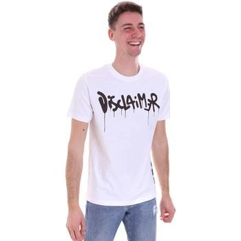 Kleidung Herren T-Shirts Disclaimer 21EDS50565 Weiß