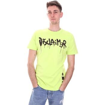 Kleidung Herren T-Shirts Disclaimer 21EDS50565 Grün