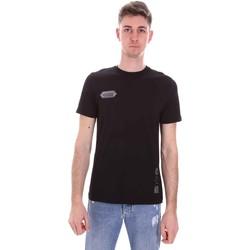Kleidung Herren T-Shirts Disclaimer 21EDS50517 Schwarz