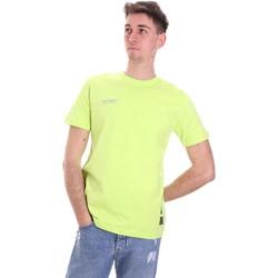 Kleidung Herren T-Shirts Disclaimer 21EDS50517 Grün