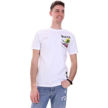 Kleidung Herren T-Shirts Disclaimer 21EDS50522 Weiß