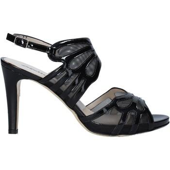 Schuhe Damen Sandalen / Sandaletten Melluso HS845 Schwarz