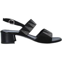 Schuhe Damen Sandalen / Sandaletten Melluso 03129X Schwarz