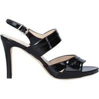 Schuhe Damen Sandalen / Sandaletten Melluso HS830 Schwarz