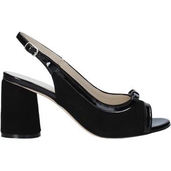 Schuhe Damen Sandalen / Sandaletten Melluso HS548 Schwarz