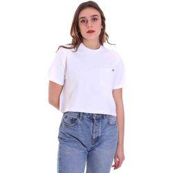 Kleidung Damen T-Shirts Dickies DK0A4XDEWHX1 Weiß