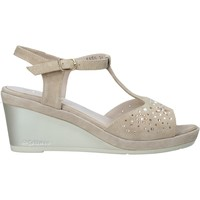 Schuhe Damen Sandalen / Sandaletten Melluso HR70511 Beige