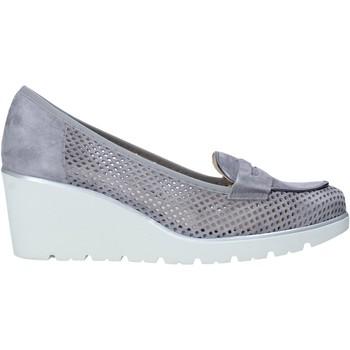 Schuhe Damen Slip on Melluso HR20509 Grau
