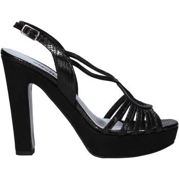 Schuhe Damen Sandalen / Sandaletten Melluso HJ484 Schwarz