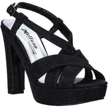 Schuhe Damen Sandalen / Sandaletten Melluso HJ440 Schwarz