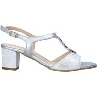 Schuhe Damen Sandalen / Sandaletten Melluso K95350 Silber