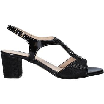 Schuhe Damen Sandalen / Sandaletten Melluso HK95360 Schwarz