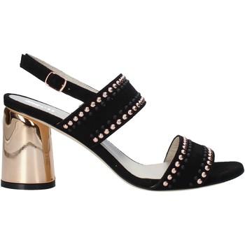 Schuhe Damen Sandalen / Sandaletten Melluso HS553 Schwarz