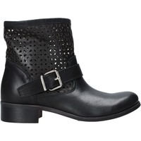 Schuhe Damen Boots Melluso H01400 Schwarz