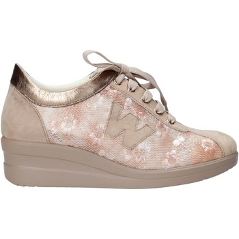 Schuhe Damen Sneaker Melluso HR20128 Beige