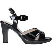 Schuhe Damen Sandalen / Sandaletten Melluso HR50137 Schwarz