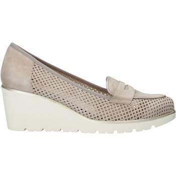 Schuhe Damen Slip on Melluso HR20509 Beige
