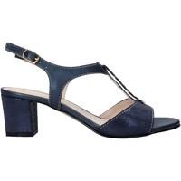 Schuhe Damen Sandalen / Sandaletten Melluso HK95360 Blau