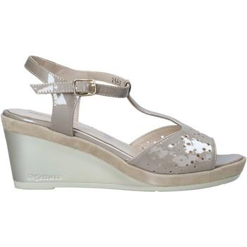 Schuhe Damen Sandalen / Sandaletten Melluso HR70520 Beige