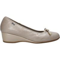 Schuhe Damen Ballerinas Melluso H08123 Beige