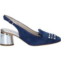 Schuhe Damen Sandalen / Sandaletten Melluso HM108 Blau