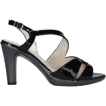 Schuhe Damen Sandalen / Sandaletten Melluso HR50138 Schwarz