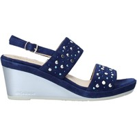 Schuhe Damen Sandalen / Sandaletten Melluso HR70531 Blau