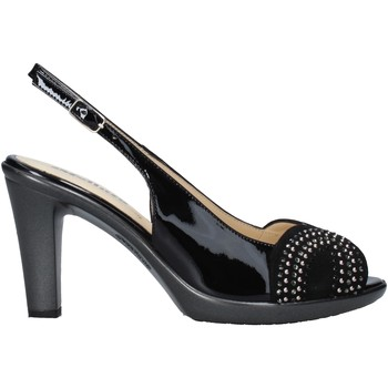 Schuhe Damen Sandalen / Sandaletten Melluso HR50117 Schwarz